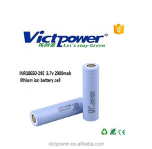High drain lithium ion battery for Samsung 29E 2900mah 3.7V power battery INR18650-29E original rechargeable battery