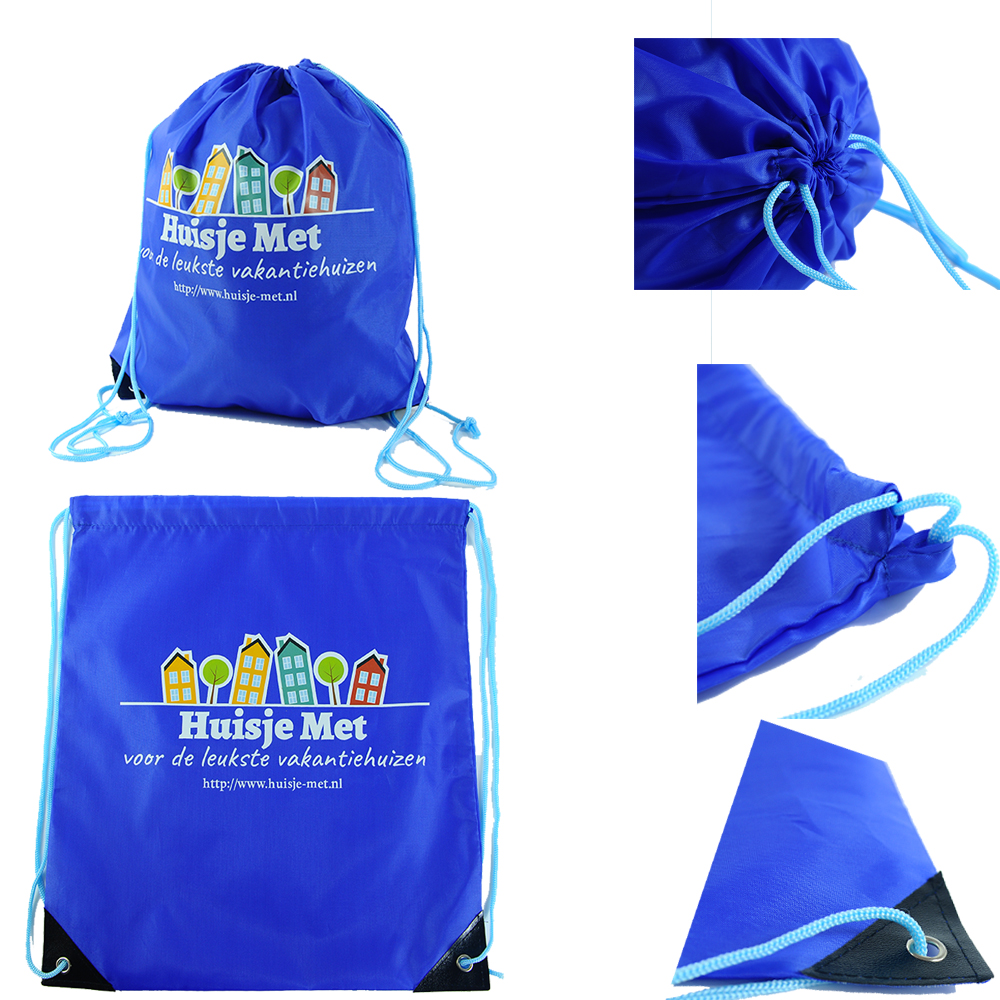 Eco-friendly customized cheap promotional sport drawstring bags