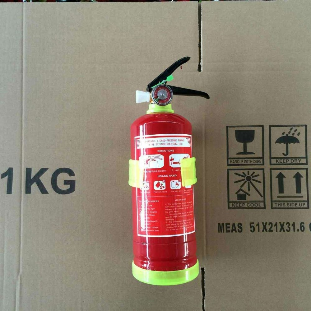 1kg abc dry chemical powder OEM fire extinguisher