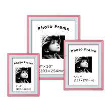 5x7 Black collage photo frame glass