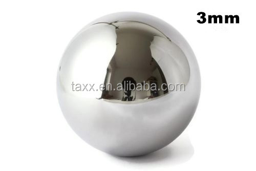 retail dropshiper wholesales exstock G200 SS304 316 420 440 440C 3mm stainless steel ball for polishing grinding