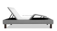 Headboard/Bed Frame Compatible Adjustable Bed Base, Electric Massage Bed, Adjustable with Wireless Remote, Queen (AF-500)