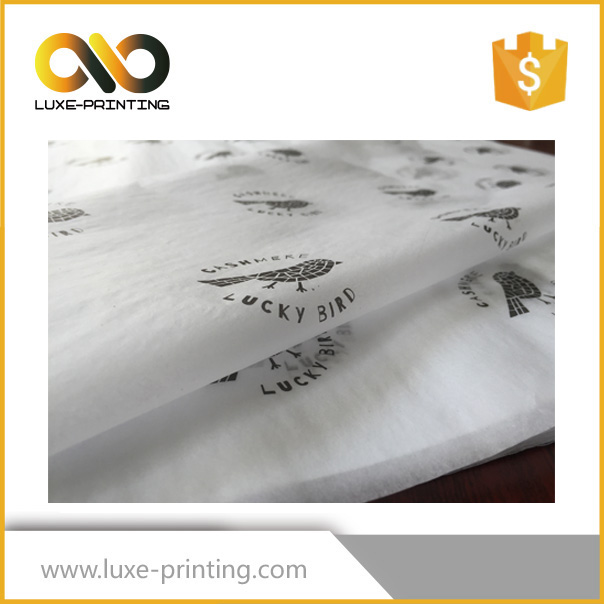 Custom printed raw material wood pulp thin tissue paper