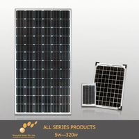Customized designed solar panel with integrated battery for RV , home use