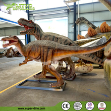 Fiberglass Baryonyx Dinosaur Sculpture Mini Golf Decoration