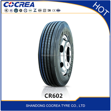 China top 10 tyre brand cocrea heavy truck tire 11r24.5