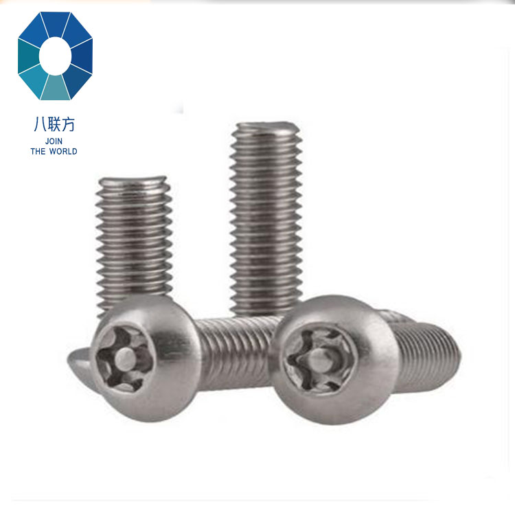 stainless steel hexagon flat head screw Pan Head Hexagon