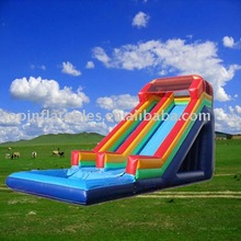 Backyard Inflatable water slide commercial inflatable double lanes slide for summer