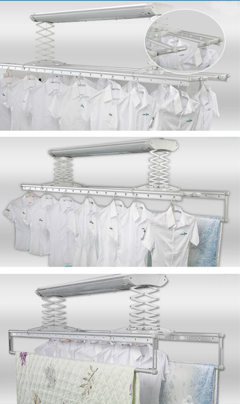 Fashionable balcony electric clothes hanger