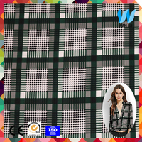 House Textile Fabrics Weft Knitted Pique Mesh 100% Cotton Printed Fabric