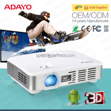 Portable projector with adjustable projector stand