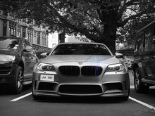 auto tuning HM design body kit for F10 M5 5 series fiber glass material