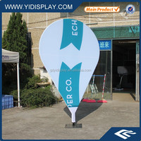 Outdoor event printed feather Flag