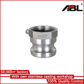 precise stainless steel forged piston parts