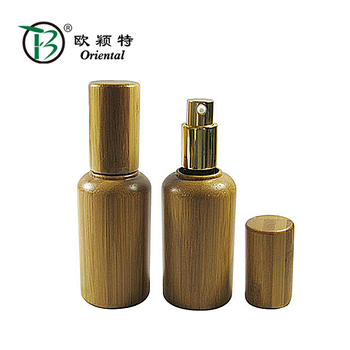 50ml spray empty oil bottle with glass inside innovative skin care packaging cosmetic serum bottle essential oil bottle OEM