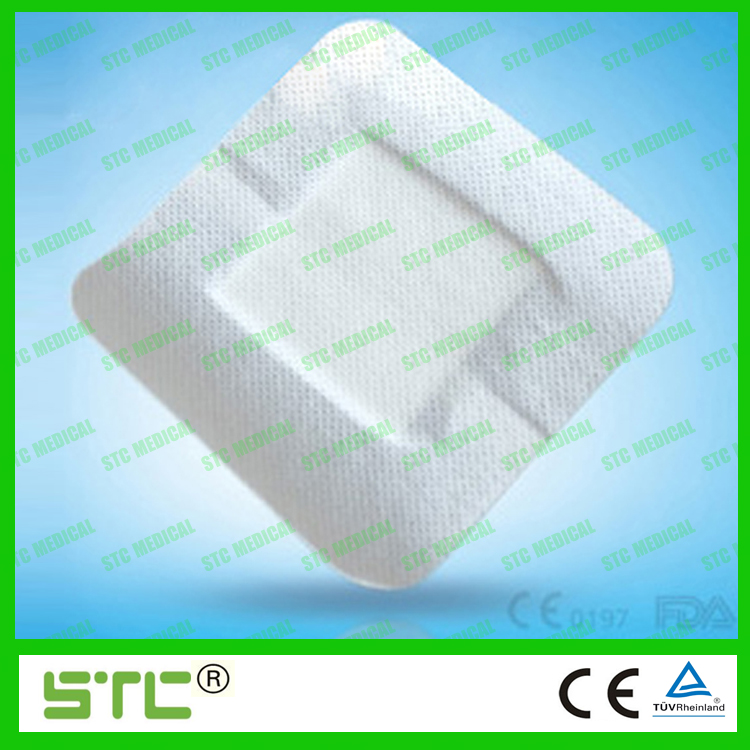 Non-woven Adherent Wound Dressing with absorbent pad