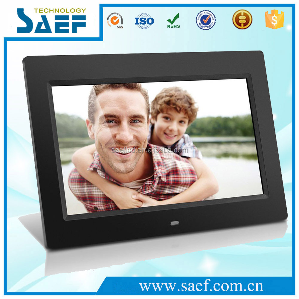 10.1 inch lcd screen player digital photo frame USB interface Slideshow Pictures