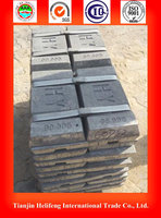 Best sales zinc ingot 99.995%, raw metal