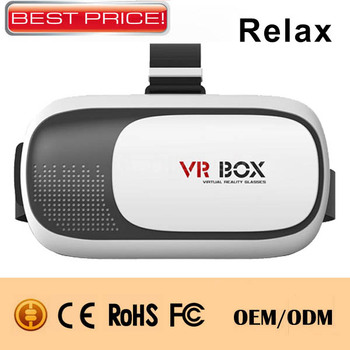 New hot selling 3d vr glasses virtual reality glasses Manufacturer