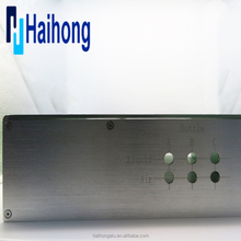 Custom precision CNC milling anodized aluminum enclosure box