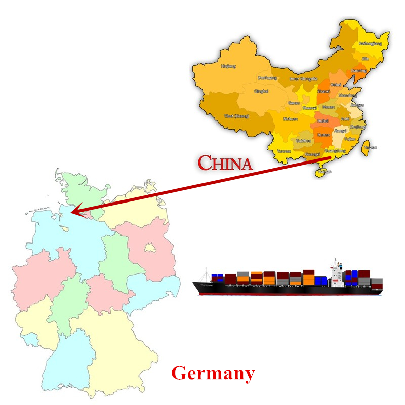 Shipping Agent from China to Hamburg Germany China Export Customs Clearance
