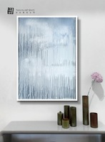 Abstract oil painting for living room wall decoration