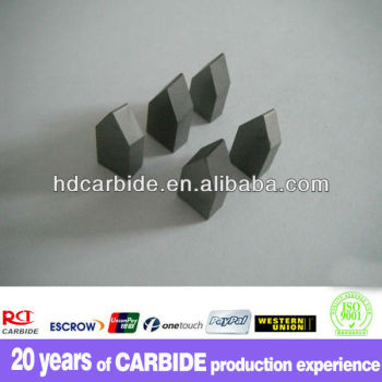 Factory wholesale K10 tungsten carbide yg6 brazed tips