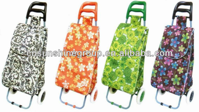 Folding trolley ,portable folding trolley,folding box trolley on wheels