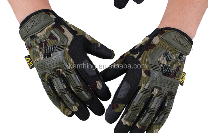 High quality army protect construction gloves full finger airsoft hunting military tactical gloves