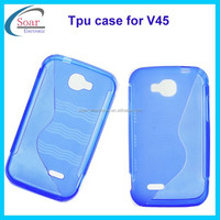 2015 China wholesale S line tpu case for Nextel V45, back cover tpu case for Nextel V45