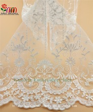 best price 3d lace fabric beads bridal embroideried lace for dress