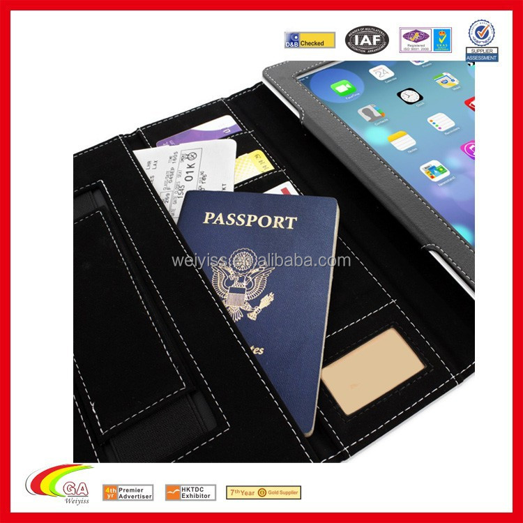 Executive Leather Case for ipad air 2 with pocket
