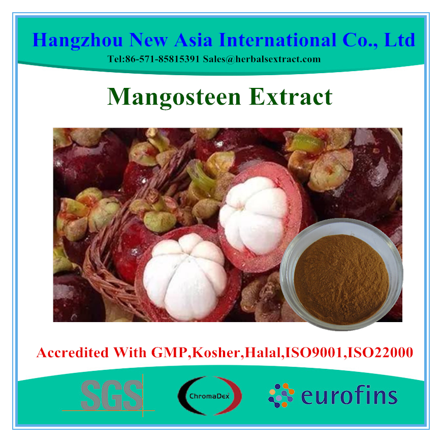 Pure mangosteen fruit extract powder ,Alpha-Mangostin 10%, 20%, 30%,40% HPLC,ID 100%,Low Contaminants of Aflatoxin,PAHs