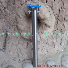 xacd made Ti bicycle seat post 31.6 carbon fiber seat post 27.2 or 31.6 titanium seat post with backset