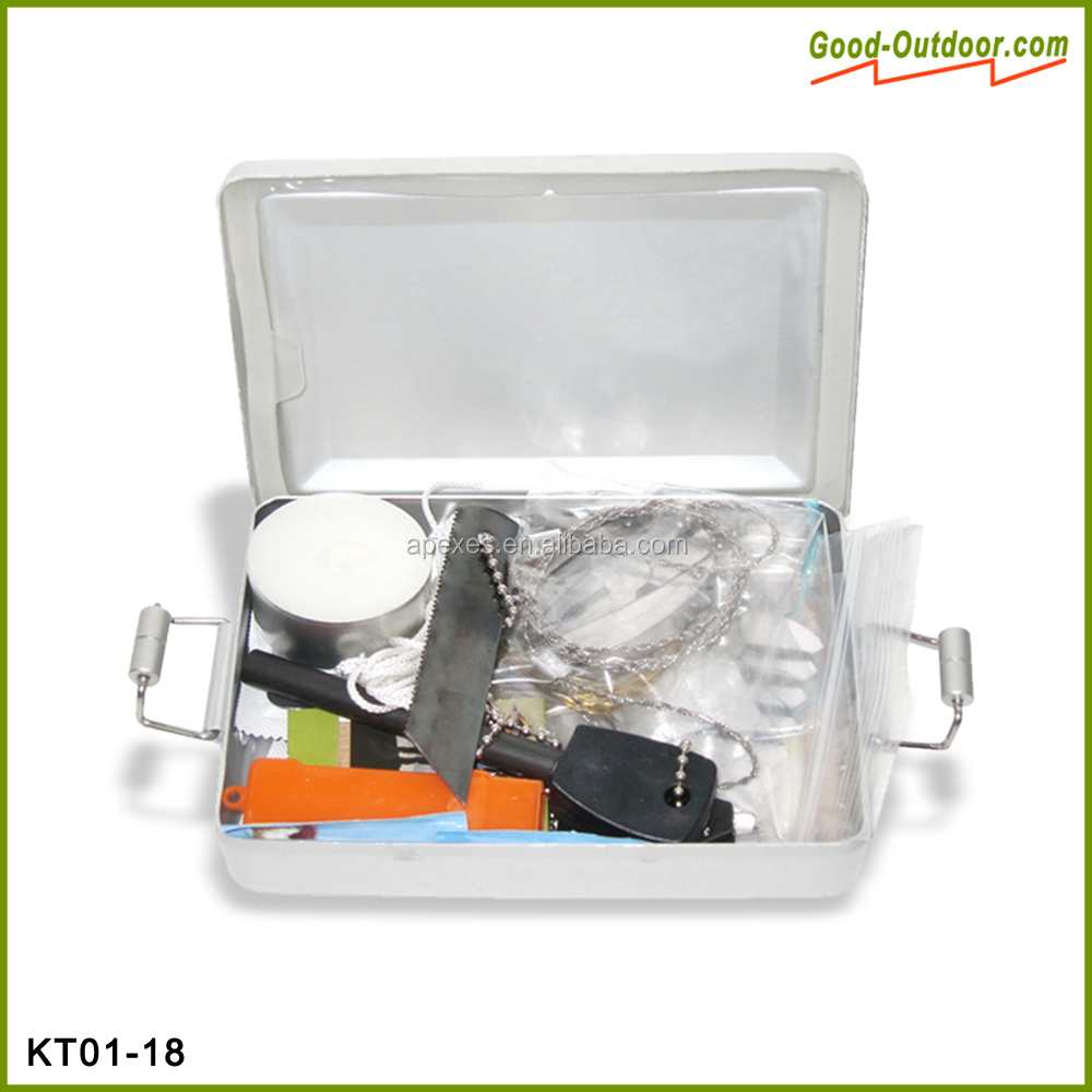 Military and portable personal survival kit