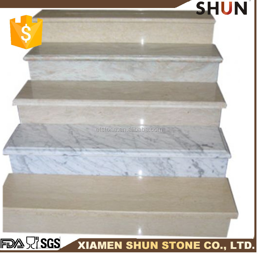 Natural Stone Granite Stair Step For Hotel Interior Decoration Design