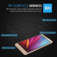 cell phone 9h raw material tempered glass for huawei honor 5x mobile