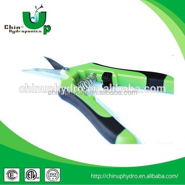 Hydroponics plant grape pruning garden scissors electric for Electric garden scissors