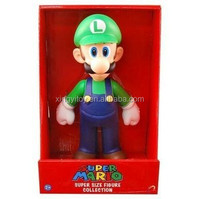"Japan anime Super Mario Super Size FIRE LUIGI Collection 9"" Toy Action figure"