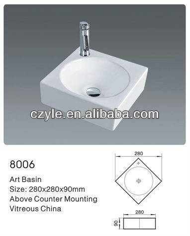 Guangdong Chaozhou square ceramic sanitary ware