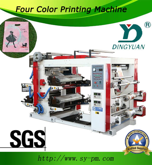(YT-41000) Full automatic plastic four color flexible printing machine