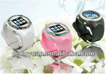 2013 best sell Promotional watch mobile phone factory