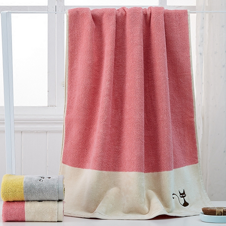 promotional cheap 100 cotton bath towel size in bulk