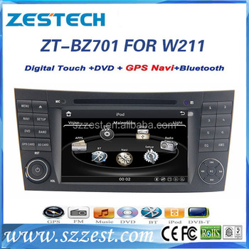 ZESTECH Latest Price gps navigation system car accessories for Benz W211