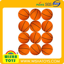 2.5inch PU Stress ball-basket ball/promotion gift/toy ball for kids