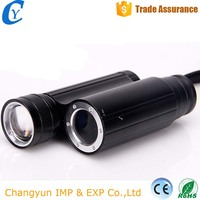 Waterproof Micro Mini Rechargeable 16340 Li-battery Telescope LED Zoomable Strong Light Flashlight