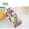 12 types Colorful painting drawing Castle/ lips/ skull pattern tpu plastic back cover case for iphone 6 6s