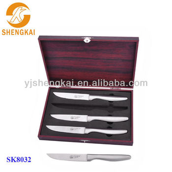 4pcs stainless steel steak knife in kitchen knives