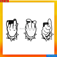 for silicone iphone case,lively finger mobile phone case