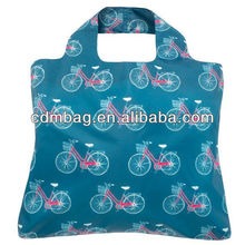 Popular T-shirt high quality 210T Recycling Folding Polyester Bag